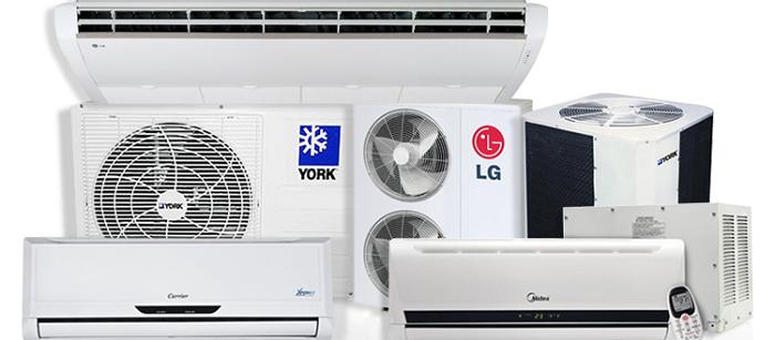 serviços de instalação, manutenção e limpeza de ar condicionado.